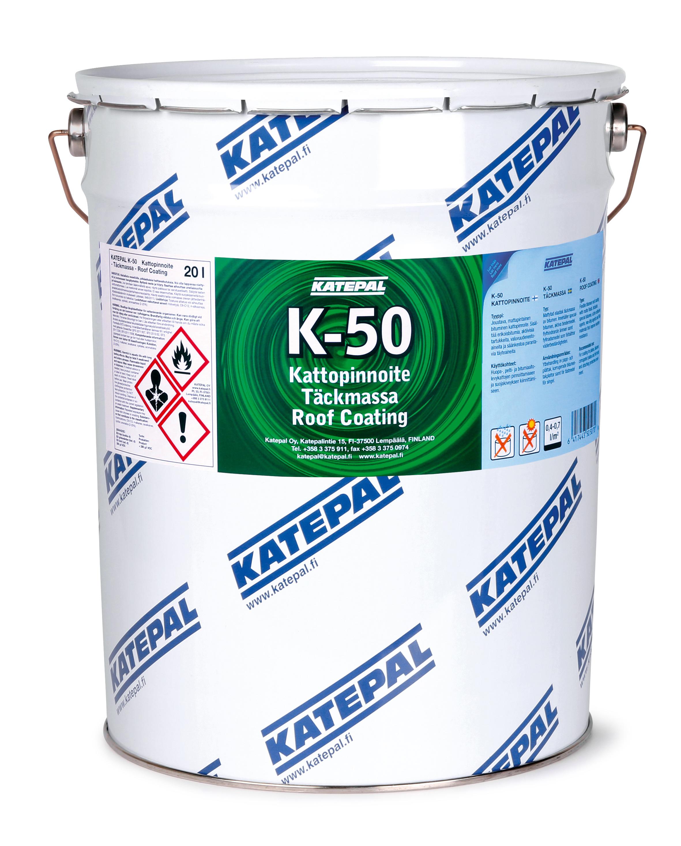 K-50 Kattopinnoite
