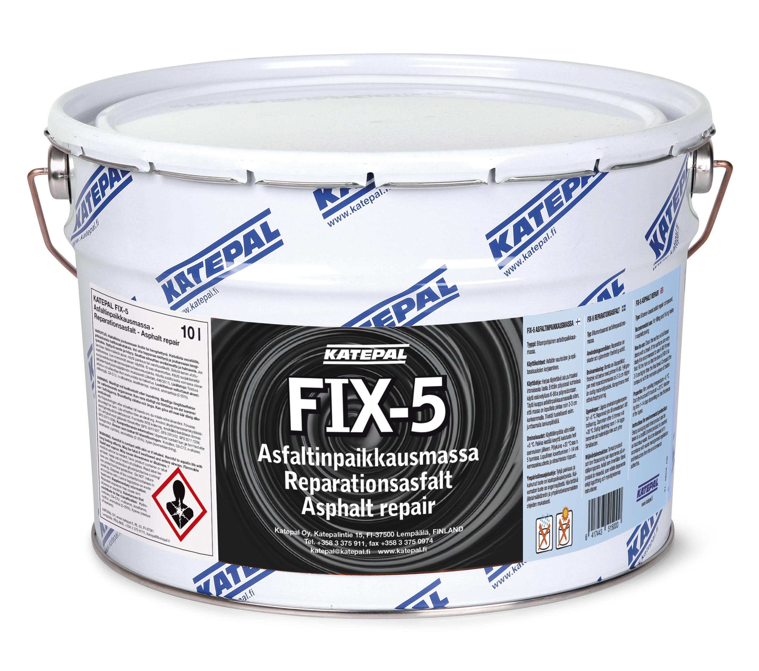 FIX-5 Asfaltinpaikkausmassa 0
